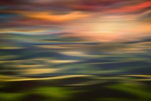 Rolling Hills at Sunset Copy by Ursula Abresch