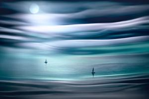 Sailing by Moonlight by Ursula Abresch