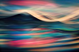 Slocan Fantasy Evening by Ursula Abresch