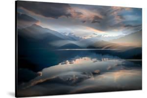 Slocan Lake At Sunset 6 by Ursula Abresch