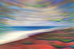 Warm Beach by Ursula Abresch