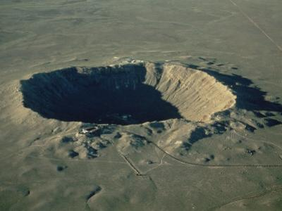 Meteor Crater, the Largest Known in the World, Arizona, USA