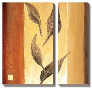 Leaf Innuendo I by Ursula Salemink-Roos