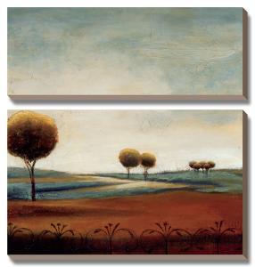 Tranquil Plains I by Ursula Salemink-Roos