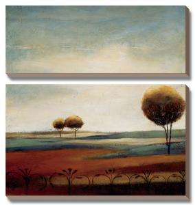 Tranquil Plains II by Ursula Salemink-Roos