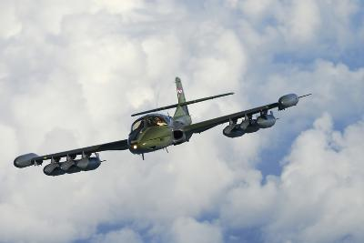 Uruguayan Air Force A-37 Dragonfly in Flight over Brazil-Stocktrek Images-Photographic Print