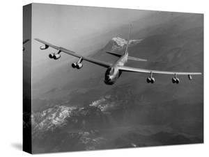 US Air Force Boeing B-52 Stratocruiser in Flight