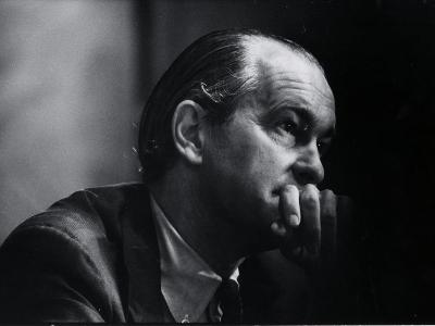 US Amb. to Iran Richard Helms, Formerly CIA Dir., During His Testimony at Watergate Hearings-Gjon Mili-Photographic Print