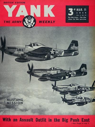 Us Army Yank Magazine British Edition, 11th March 1945--Giclee Print