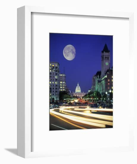 US Capital Building, Washington, DC-Terry Why-Framed Photographic Print