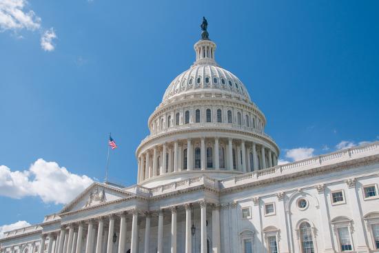 Us Capitol-robhillphoto com-Photographic Print
