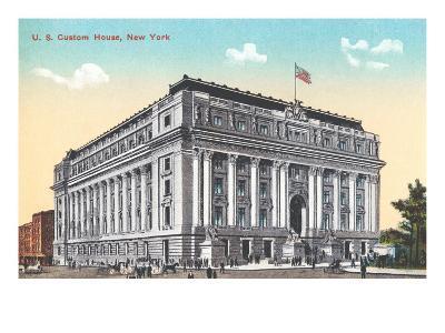 US Custom House, New York City--Art Print