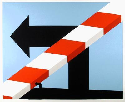 US Highway #1-Allan D'Arcangelo-Limited Edition