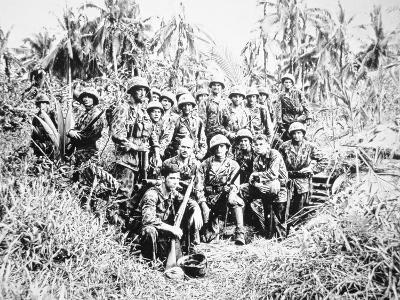 US Marine Raiders, Cape Torokina, Bougainville, November 1943--Photographic Print