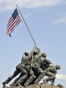 Us Marines Iwo Jima Monument, Arlington National Cemetery, Virginia., USA
