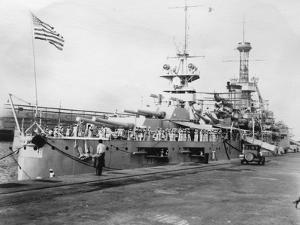 Us Navy Warships, Navy Yard, Balboa, Panama, 1931