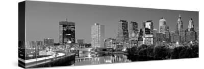 US, Pennsylvania, Philadelphia Skyline, Night