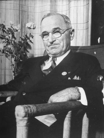 US Pres. Harry S. Truman at the Time of the United Nations Conference