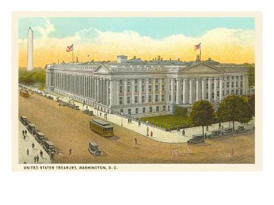 US Treasury, Washington D.C.--Art Print