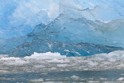 USA, Alaska, Endicott Arm. Blue Ice and Icebergs-Don Paulson-Photographic Print