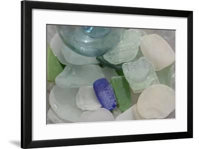 USA, Alaska, Ketchikan, Beach Glass-Savanah Stewart-Framed Photographic Print
