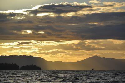 USA, Alaska, Ketchikan. Sunset North of Town-Savanah Stewart-Photographic Print
