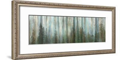 USA, Alaska, Misty Fiords National Monument. Panoramic collage of paint-splattered curtain.-Jaynes Gallery-Framed Photographic Print