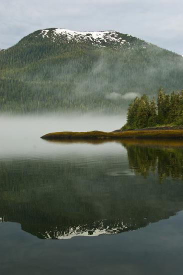 USA, Alaska. Morning Fog on Lake-Jaynes Gallery-Photographic Print