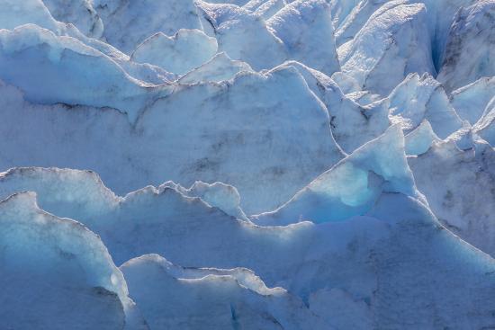 USA, Alaska, Portage Glacier of glacier ice.-Jaynes Gallery-Premium Photographic Print