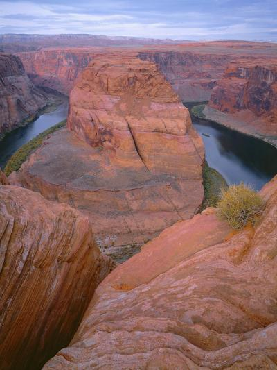 USA, Arizona, Glen Canyon National Recreation Area, Horseshoe Bend on the Colorado River-John Barger-Photographic Print