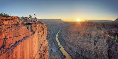 USA, Arizona, Grand Canyon National Park (North Rim), Toroweap (Tuweep)-Michele Falzone-Photographic Print