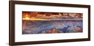 USA, Arizona, Grand Canyon National Park (South Rim), Colorado River from Mohave Point-Michele Falzone-Framed Photographic Print