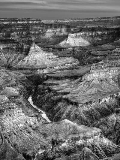 USA, Arizona, Grand Canyon National Park, Sunrise View of Colorado River from Mojave Point-Ann Collins-Photographic Print