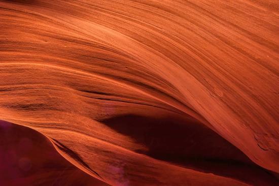 USA, Arizona, Paige. Rock Patterns in Antelope Canyon-Jay O'brien-Photographic Print