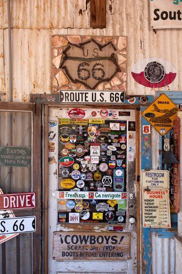 USA, Arizona, Route 66, Hackberry, Shop-Catharina Lux-Photographic Print