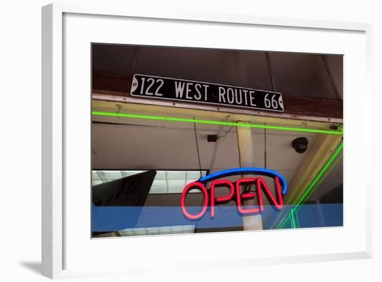 USA, Arizona, Route 66, Williams, Shop Window-Catharina Lux-Framed Photographic Print