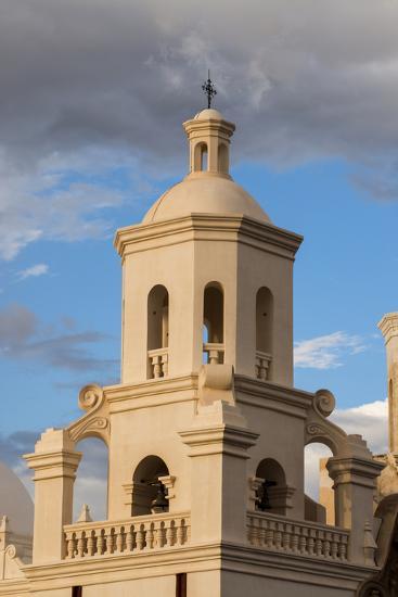 USA, Arizona, Tucson, Mission San Xavier del Bac-Peter Hawkins-Photographic Print