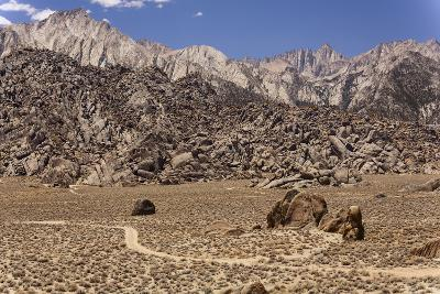 USA, California, Alabama Hills, Eastern Sierra Nevada Mountains-John Ford-Photographic Print