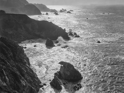 USA, California, Big Sur Coast-John Ford-Photographic Print