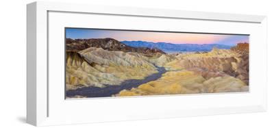 Usa, California, Death Valley National Park, Zabriskie Point-Alan Copson-Framed Photographic Print