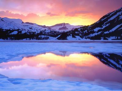 USA, California, Ellery Lake at Sunset-Jaynes Gallery-Photographic Print