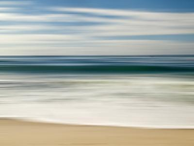 USA, California, La Jolla, Abstract Image of Blurred Wave at Marine St. Beach-Ann Collins-Photographic Print