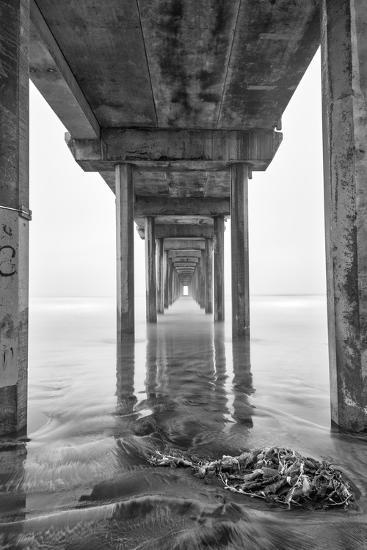 USA, California, La Jolla, Scripps Pier, Sunrise-John Ford-Photographic Print