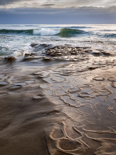 USA, California, La Jolla, Wave Breaking Toward Tide Pools at Coast Blvd-Ann Collins-Photographic Print