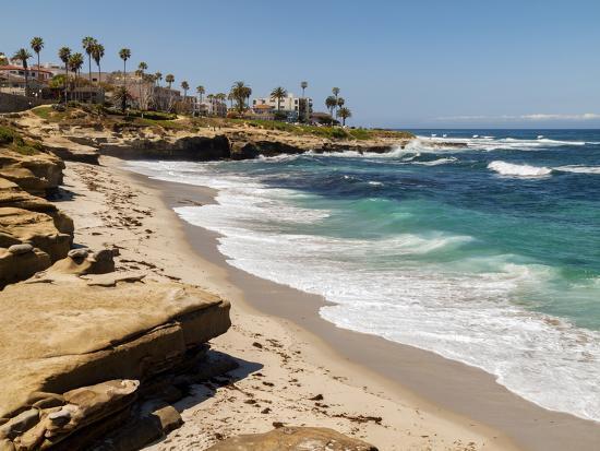 USA, California, La Jolla, Wipeout Beach-Ann Collins-Photographic Print