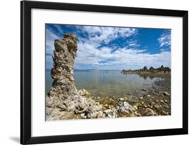 USA, California, Mono Lake and Tufa Towers from South Tufa Reserve-Bernard Friel-Framed Photographic Print