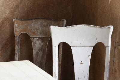 USA, California, Mono Lake, Bodie Chairs-John Ford-Photographic Print