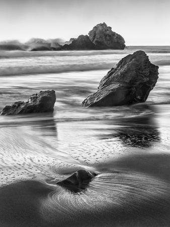 USA, California, Pfeiffer Beach-John Ford-Photographic Print