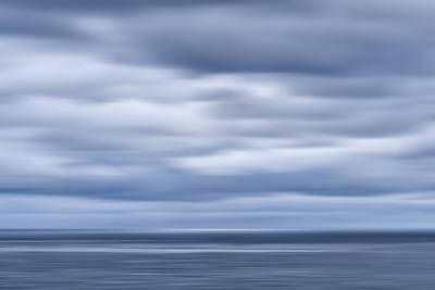 USA, California, San Diego, View of Blurred Clouds over Pacific Ocean-Ann Collins-Photographic Print