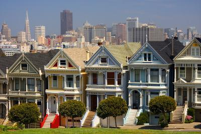 USA, California, San Francisco, the 'Painted Ladies'.-Anna Miller-Photographic Print
